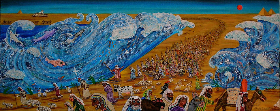 Crossing the Red Sea by Daniel Botkin