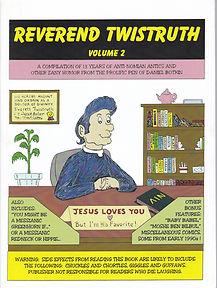 Rev Twistruth Vol 2 Comic Book Daniel Botkin
