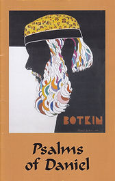 Psalms of Daniel Poetry Book Daniel Botkin