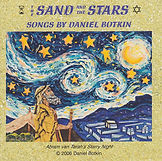 Sand and the Stars Music CD by Daniel Botkin