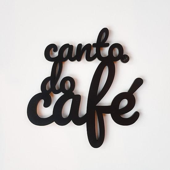 Palavra Canto do Café
