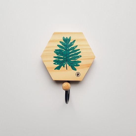 Cabideiro HEXA Folha Tropical