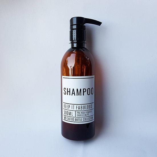 Frasco Keep It - Shampoo 500ml