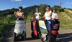 Segway CitySeg Baden-Baden Weinberger Touren Events eMobilität