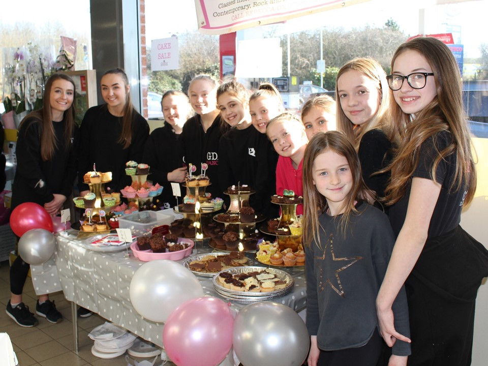 THANK YOU TESCO for allowing us a cake stall in the shop yesterday. So much community spirit going around and the public were wonderful and seemed very pleased we were there. We are absolutely astounded to have raised £500 towards new mats and equipment in one afternoon selling cakes. A HUGE THANK YOU  too to all our wonderful parents and dancers who made cakes and it turns out that some of our dancers are born sales people too! Well done everyone!