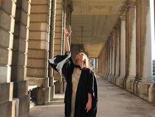 Rebecca Graduates From Trinity Laban Conservatoire