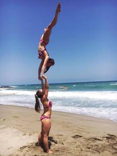 Tricks on the beach