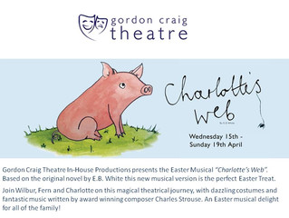 Lucie will be Performing in Charlotte's Web at the Gordon Craig Theatre this Easter