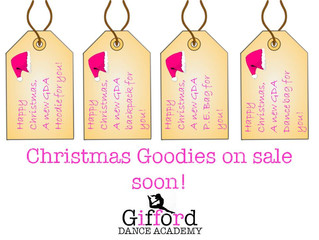 GDA Christmas Goodies Are On Their Way!