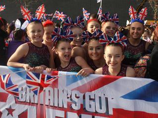 Gifford Girls Filming at Britain's Got Talent!!!