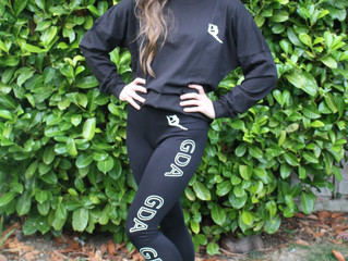 GDA LEGGINGS AND 'TEAM GDA' TOP NOW AVAILABLE