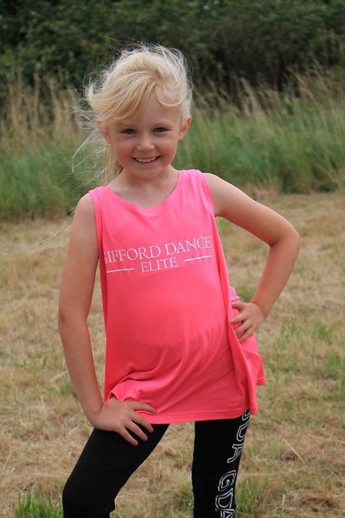 Gifford Dance Elite Pink Vest
