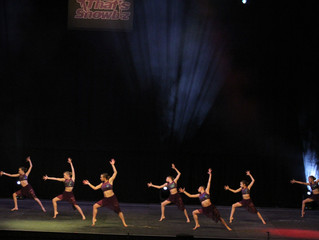 Winners in the Largest Group Dance Competition in the UK -  Grand Final at Liverpool Echo Arena