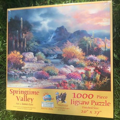 Springtime Valley puzzle