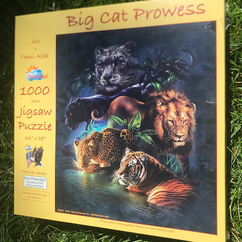 Big Cat Prowess puzzle