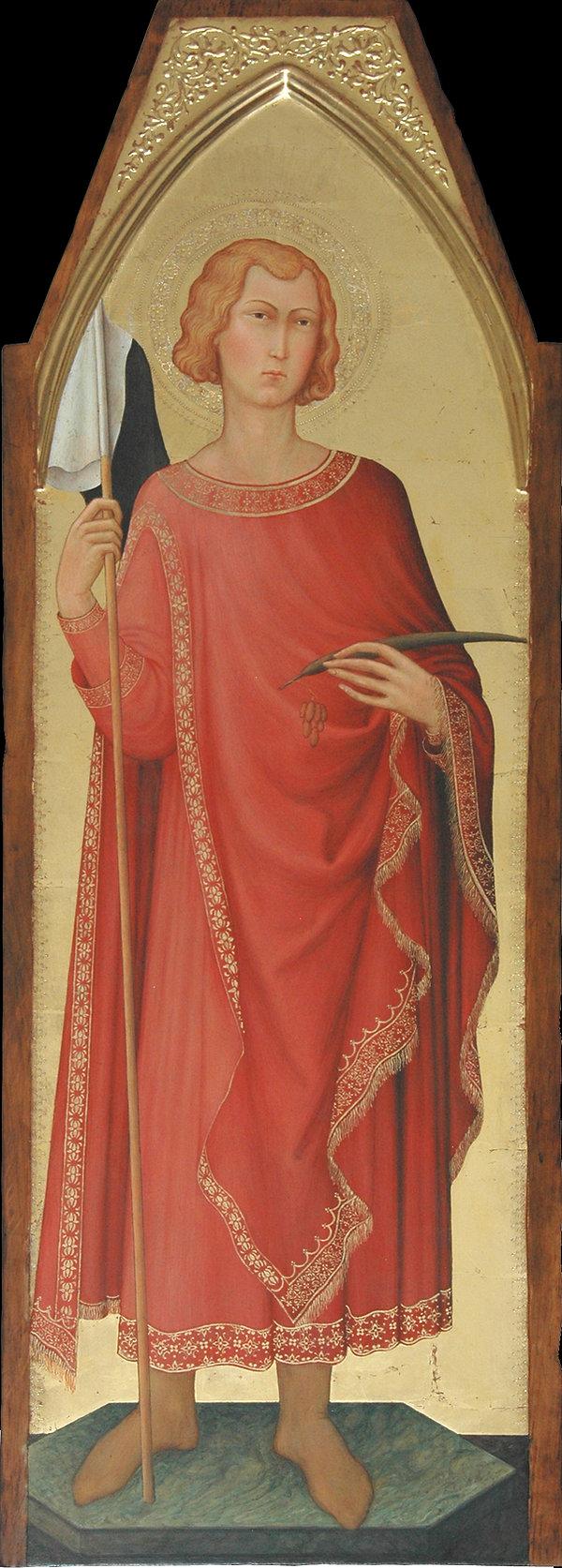 Opera tratta da Simone Martini, XIV secolo tempera e oro su tavola
