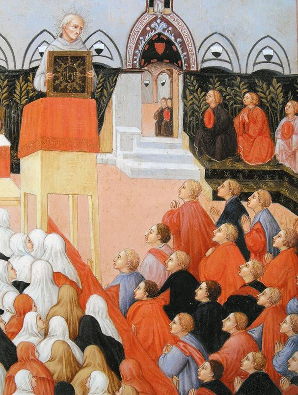 Opera tratta da: Sano di Pietro, XV secolo tempera e oro su tavola