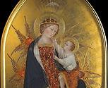 Madonna con Bambino, Madonna Branchini Giovanni di Paolo. Tecnica: Tempera e oro su tavola antica Siena XV secolo