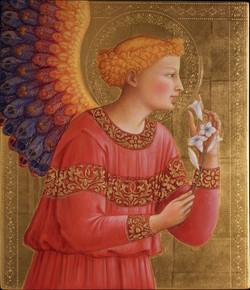 Angelo annunciante beato angelico