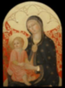 Opera tratta da: Sano di Pietro, Siena XIV secolo, pinacoteca nazionale. tempera all'uovo su tavola dorata antica