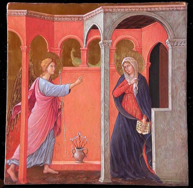 Opera tratta da: Duccio di Buoninsegna, XIV secolo Tempera e oro su tavola