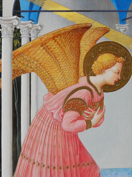 Opera tratta da: Beato Angelico tempera e oro su tavola