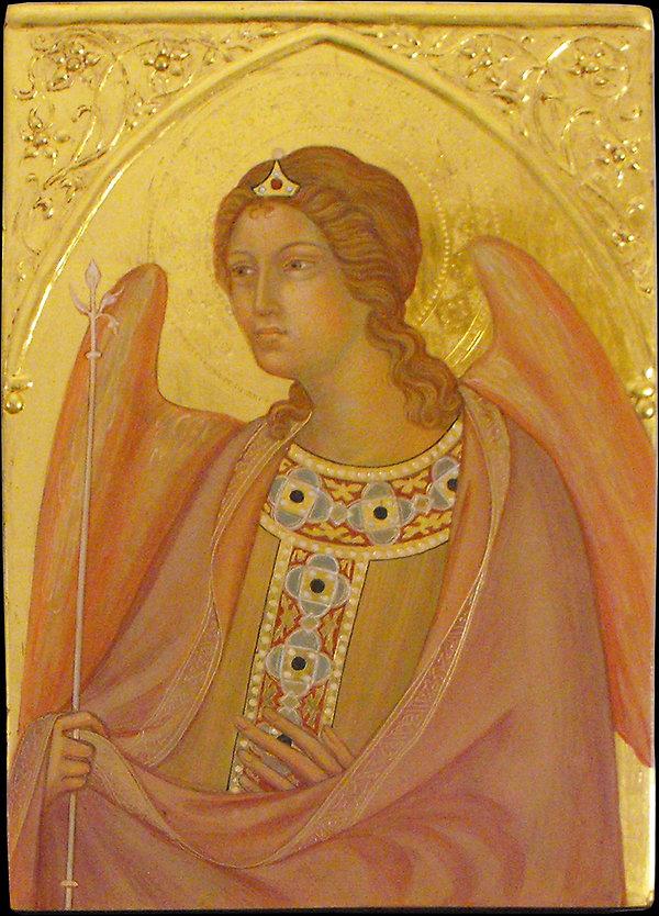 Opera ispirata a Simone Martini, Siena, XIV secolo tempera e oro su tavola
