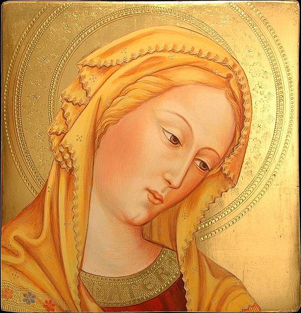 Opera ispirata da Gentile Da Fabriano, XV secolo tempera e oro su tavola