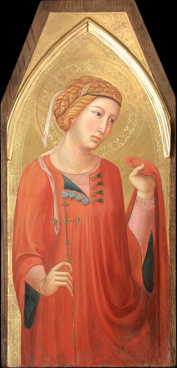 Opera ispirata a Pietro Lorenzetti, pinacoteca nazionale di siena tempera all'uovo su tavola dorata antica