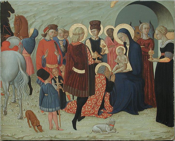 Opera tratta da: Il Sassetta, XV secolo tempera e oro su tavola