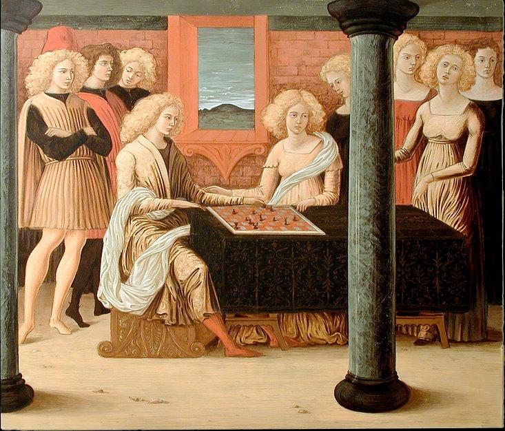 Opera tratta da: Francesco di Giorgio Martini, XV secolo tempera e oro su tavola