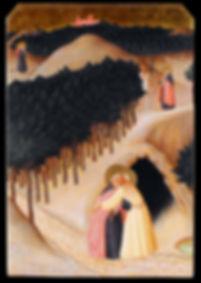 Opera tratta da: Maestro Dell'Osservanza, XV secolo. tempera e oro su tavola