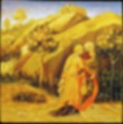 """Opera ispirata ad un dipinto di Gentile da Fabriano """"Fuga in Egitto"""" XV secolo"""