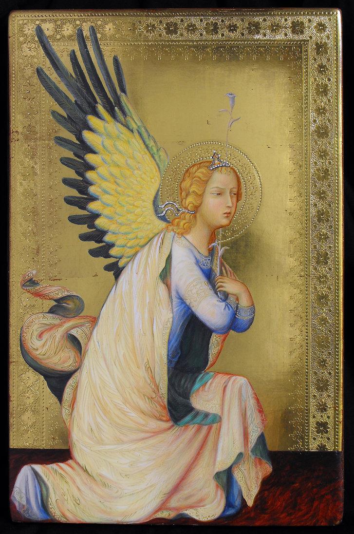 Opera tratta da: Simone Martini, polittico Orsini tempera e oro su tavola