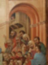 Opera tratta da: Duccio di Buoninsegna, XIV sec. tempera e oro su tavola