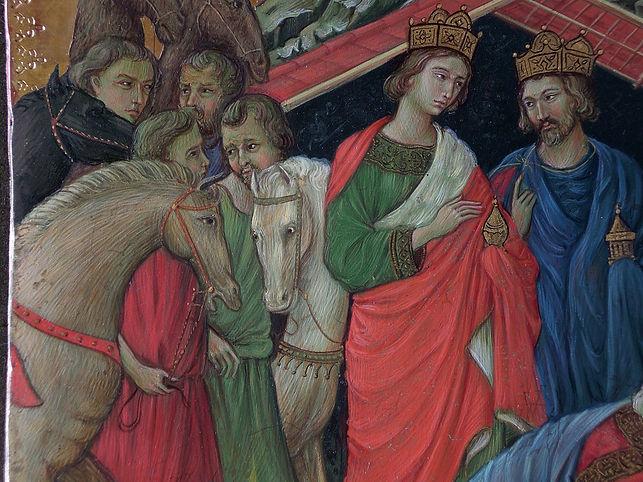 Opera tratta da: Duccio di Buoninsegna, XIV sec. Tecnica: tempera e oro su tavola