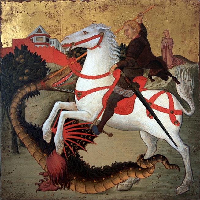Opera tratta da: Maestro dell'Osservanza, secolo XV tempera e oro su tavola