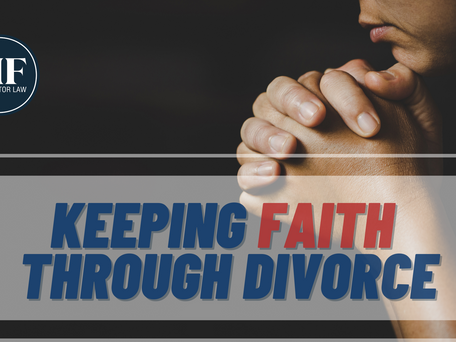 Keeping Faith Through Divorce