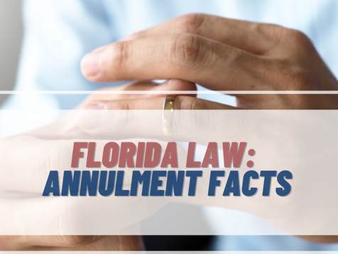 Can I Get An Annulment In Florida?