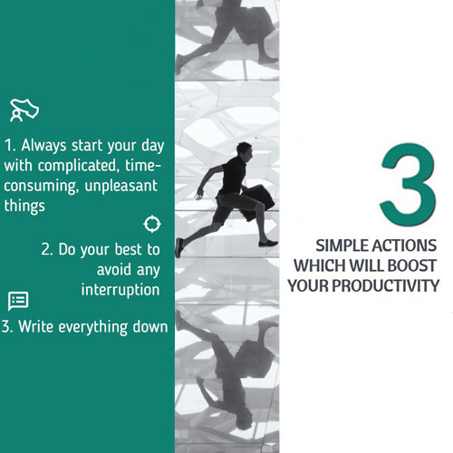 Synesis Partners - 3 simple actions which will boost your productivity