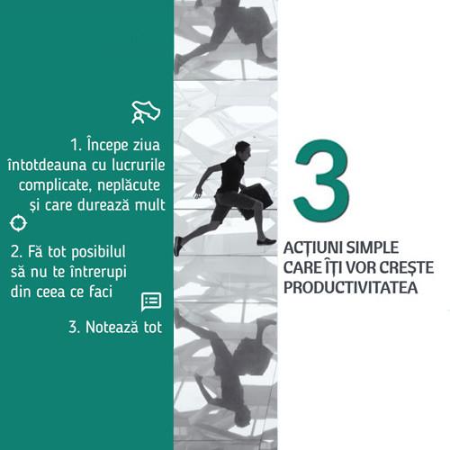 Synesis Partners - Actiuni simple care iti vor creste productivitatea