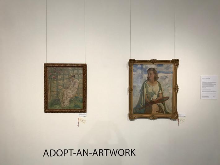 Adopt-An-Artwork on Display