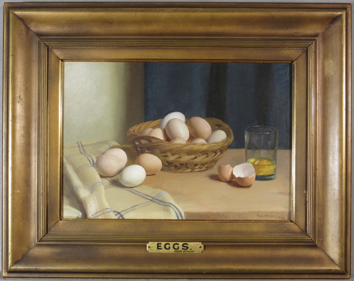 Treatment of 'Eggs' by Nora Heysen