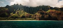 Cruising, Kauai mountain coast