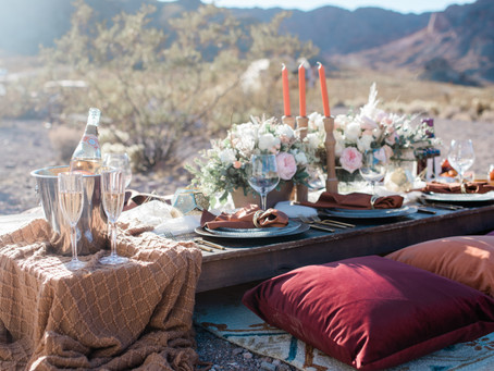A Luxury Picnic Amongst the Cacti
