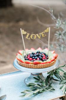 Fruit tart pie
