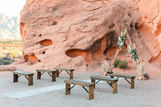 Styled shoot at Valley of Fire State Park in Nevada, Siello Weddings and Events + Cactus Collective