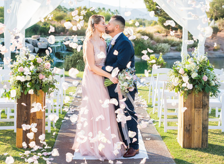 Romantic Pastels in Las Vegas - Styled Shoot August 2020