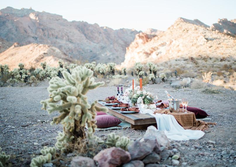 Luxury picnic, Eldorado Canyon Old Mining Town