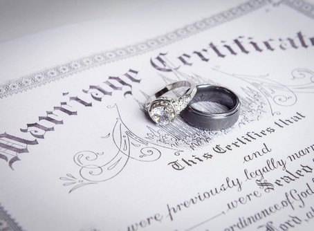 Obtaining Your Marriage License in Las Vegas